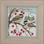 Buttons & Beads 2013 Winter Series - Chickadees