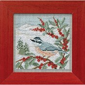 Buttons & Beads 2014 Winter Series - Nuthatch_THUMBNAIL