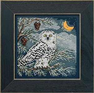 Buttons & Beads 2014 Winter Series - Snowy Owl MAIN