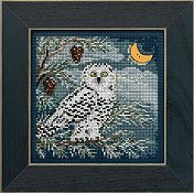 Buttons & Beads 2014 Winter Series - Snowy Owl_THUMBNAIL