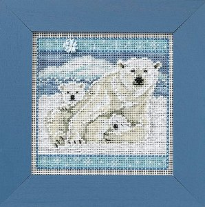 Buttons & Beads 2014 Winter Series - Polar Bears MAIN