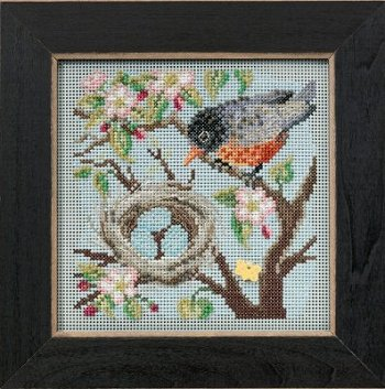 Buttons & Beads 2015 Spring Series - Spring Robin MAIN