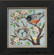 Buttons & Beads 2015 Spring Series - Spring Robin THUMBNAIL