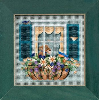 Buttons & Beads 2015 Spring Series - Window Box MAIN
