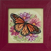 Buttons & Beads 2015 Spring Series - Winged Monarch THUMBNAIL