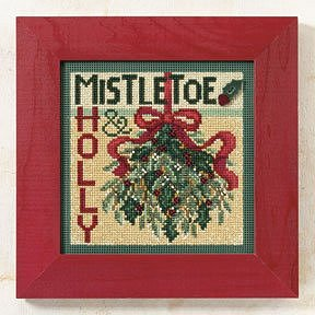 Buttons & Beads 2009 Winter Series - Mistletoe MAIN