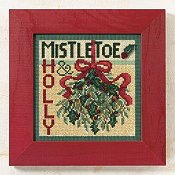 Buttons & Beads 2009 Winter Series - Mistletoe THUMBNAIL