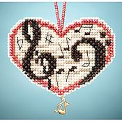 Ornament Series 2013 I Love Charmed Ornaments - Love Notes THUMBNAIL