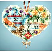 Ornament Series 2013 I Love Charmed Ornaments - Love Gardening THUMBNAIL