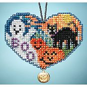 Ornament Series 2013 I Love Charmed Ornaments - Love Halloween THUMBNAIL