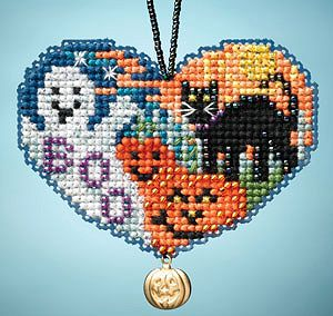Ornament Series 2013 I Love Charmed Ornaments - Love Halloween MAIN