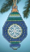 Mill Hill Christmas Jewels Charmed Ornaments - Lapis