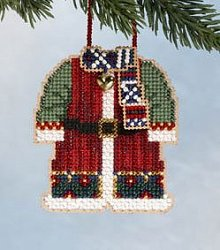 Mill Hill Bead Kit Santa's Closet - Santa's Coat THUMBNAIL