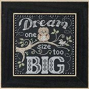 Mill Hill Chalkboard Quartet - Dream Big THUMBNAIL