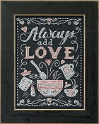 Mill Hill Chalkboard Quartet - Add Love