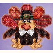 Ornament Series 2015 Autumn Harvest - Tom Turkey THUMBNAIL