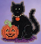 Ornament Series 2015 Autumn Harvest - Wendy's Cat THUMBNAIL