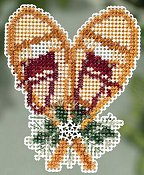 Ornament Series 2015 Winter Holiday - Snowshoes THUMBNAIL