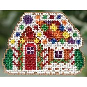 Ornament Series 2015 Winter Holiday - Gingerbread Cottage