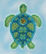 Ornament Series 2016 Spring Bouquet - Sea Turtle THUMBNAIL