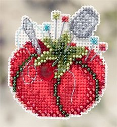Ornament Series 2012 Spring Series - Tomato Pincushion
