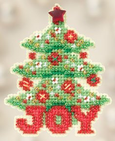 Ornament Series 2012 Winter Holiday - Joy Tree THUMBNAIL