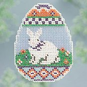 Ornament Series 2013 Spring Series - Bunny Egg THUMBNAIL