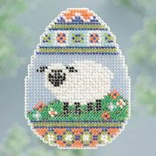 Ornament Series 2013 Spring Series - Sheep Egg THUMBNAIL