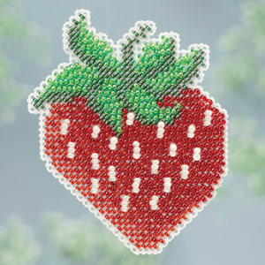 Ornament Series 2013 Spring Series - Strawberry MAIN