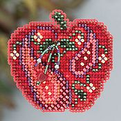Ornament Series 2013 Autumn Harvest - Jeweled Apple THUMBNAIL