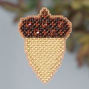 Ornament Series 2013 Autumn Harvest - Acorn