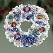 Ornament Series 2013 Winter Holiday - Crystal Wreath THUMBNAIL