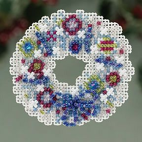 Ornament Series 2013 Winter Holiday - Crystal Wreath MAIN