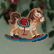 Ornament Series 2013 Winter Holiday - Rocking Horse THUMBNAIL