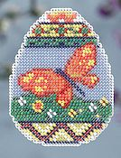 Ornament Series 2014 Spring Bouquet - Butterfly Egg THUMBNAIL