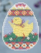 Ornament Series 2014 Spring Bouquet - Chick Egg THUMBNAIL