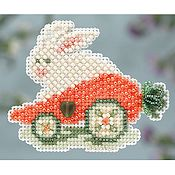 Ornament Series 2014 Spring Bouquet - Rabbit Ride THUMBNAIL