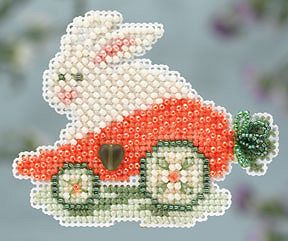 Ornament Series 2014 Spring Bouquet - Rabbit Ride MAIN