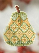 Ornament Series 2014 Autumn Series - Jeweled Pear THUMBNAIL