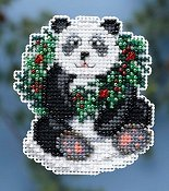 Ornament Series 2014 Winter  Holiday - Holiday Panda THUMBNAIL