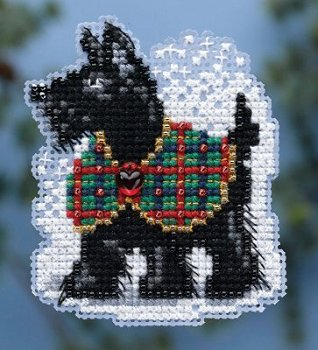 Ornament Series 2014 Winter Holiday - Scottie MAIN