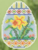 Ornament Series 2015 Spring Bouquet - Daffodil Egg THUMBNAIL