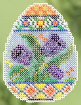 Ornament Series 2015 Spring Bouquet - Tulip Egg MAIN