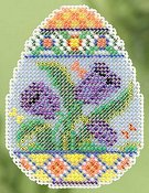Ornament Series 2015 Spring Bouquet - Tulip Egg THUMBNAIL