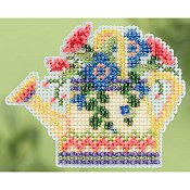 Ornament Series 2015 Spring Bouquet - Floral Watering Can THUMBNAIL