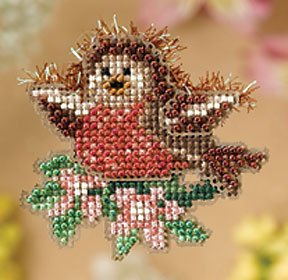 Ornament Series 2008 Spring Bouquet - Rockin' Robin THUMBNAIL