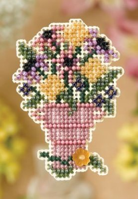Ornament Series 2008 Spring Bouquet - Cut Flowers MAIN