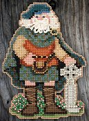 Mill Hill Bead Kit Celtic Santas - Scotland Santa