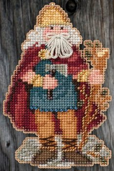Mill Hill Bead Kit Celtic Santas - Wales Santa MAIN