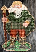 Mill Hill Bead Kit Celtic Santas - Ireland Santa